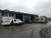 Dreary looking day at Tyre World